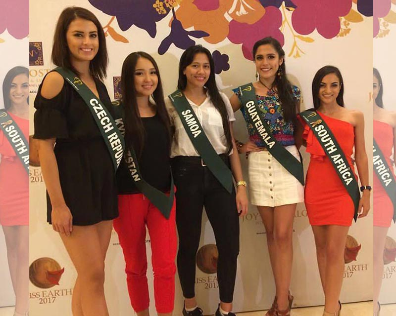 Irini Moutzouris out of Miss Earth 2017 for not meeting minimum height requirements!