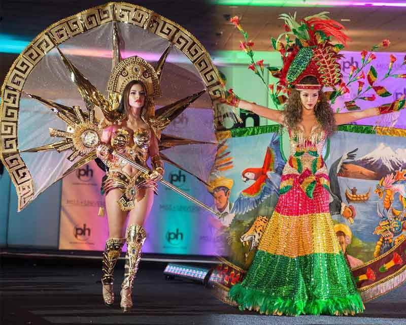 Our Top 5 in the Miss Universe 2017 National Costume Round