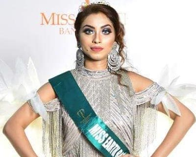 Meghna Alam crowned Miss Earth Bangladesh 2020