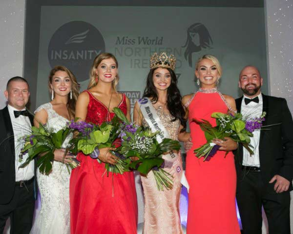 Anna Henry crowned as Miss World Northern Ireland 2017