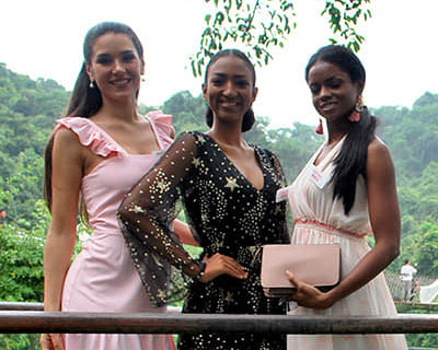 Miss World 2018 delegates visit Tropical Rain Forest in Sanya