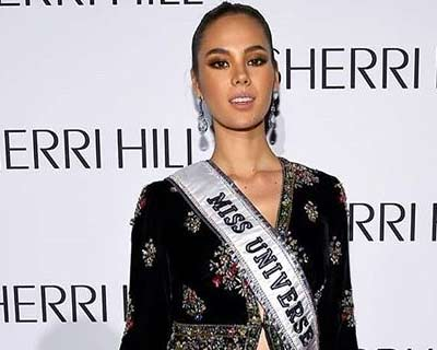 Miss Universe 2018 Catriona Gray made a faux pas by wearing a rip off of Sabyasachi's collection