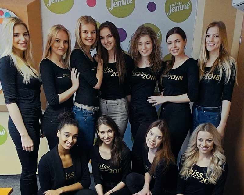 Miss Slovensko 2018 Full Results Live Update