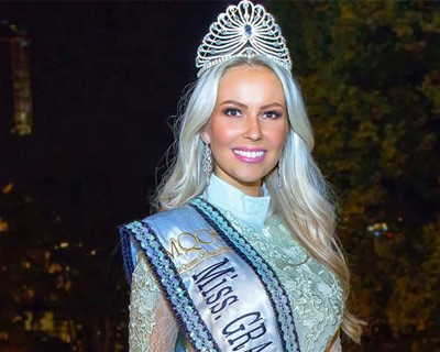 Maria Kassandra Barbantonis crowned Miss Grand Norway 2018
