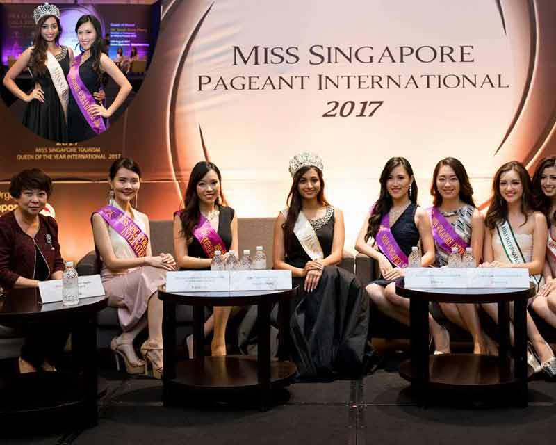 Srinidhi Shetty attended Miss Singapore International 2017 press conference