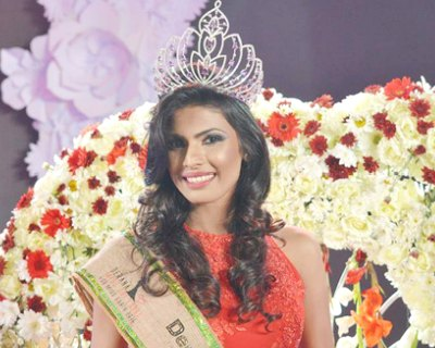 Visna Fernando crowned Miss Earth Sri Lanka 2015