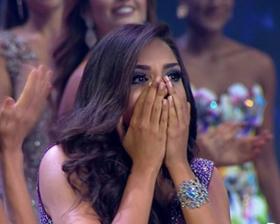Laura Gonzalez Ospina crowned as Miss Colombia 2017
