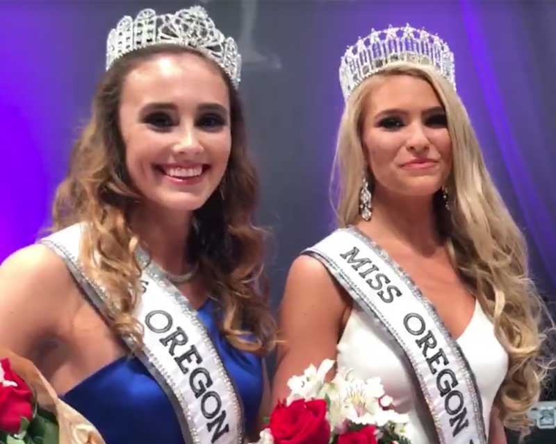 Toneata Morgan crowned Miss Oregon USA 2018 for Miss USA 2018