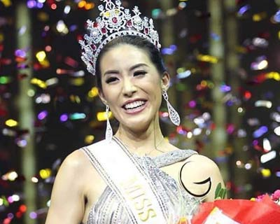 Sophia Ng of Hong Kong crowned Miss Global 2018