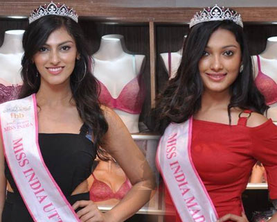 Miss India 2017 North Zone winners visit Triumph store in style