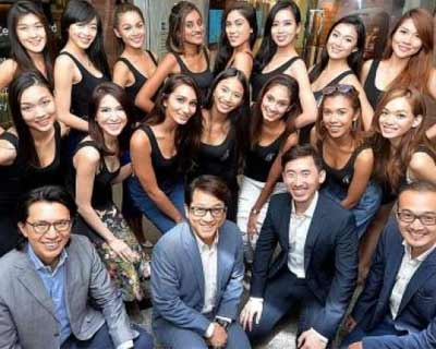 Finalists of Miss Universe Singapore 2016 Get Their Teeth Shining