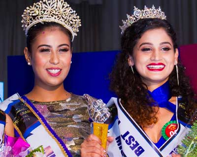 Nepal's representatives to Miss Tourism International 2019, Miss Scuba International 2019, Miss Landscapes International 2019 and Miss Multinational 2019 crowned
