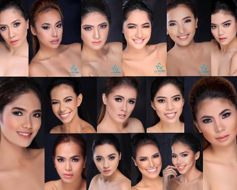 Miss Scuba Philippines 2017 Finals on 10th October; Meet the Contestants