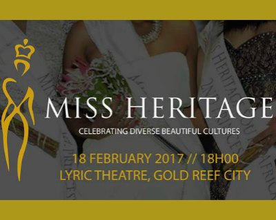Miss Heritage Global 2016-2017 Finals tonight in South Africa