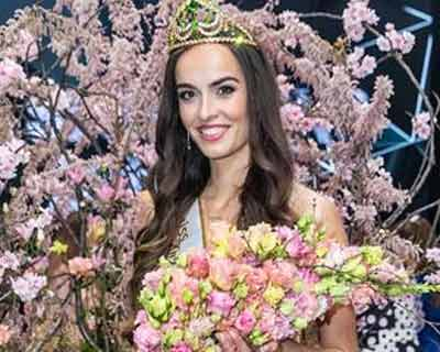 Alica Ondrášová from Unin crowned Miss International Slovakia 2019 for Miss International 2019