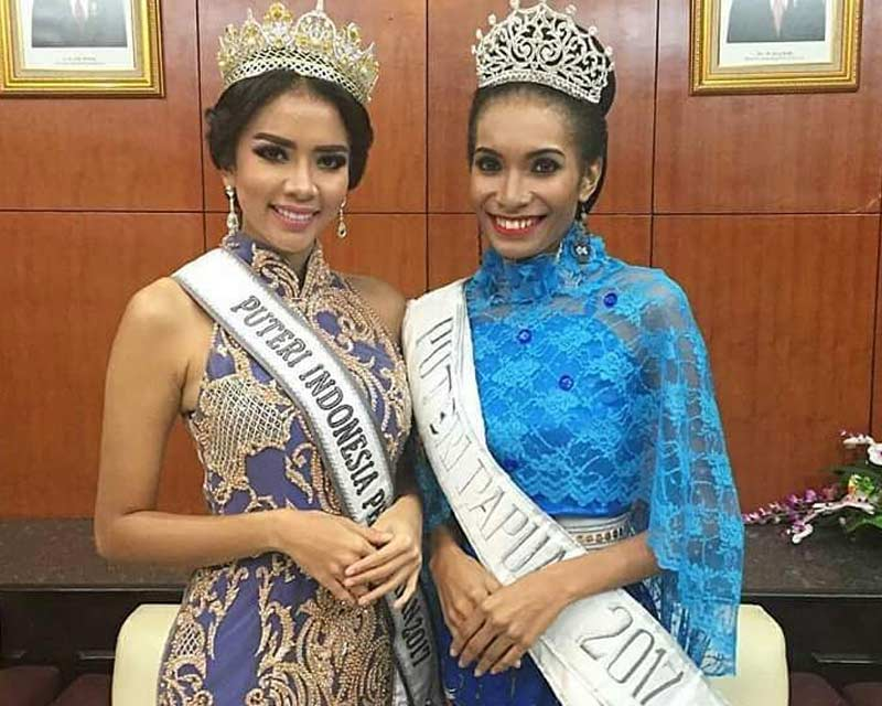Yuliana Pitornela Fonataba crowned Puteri Indonesia Papua 2017 for Puteri Indonesia 2018