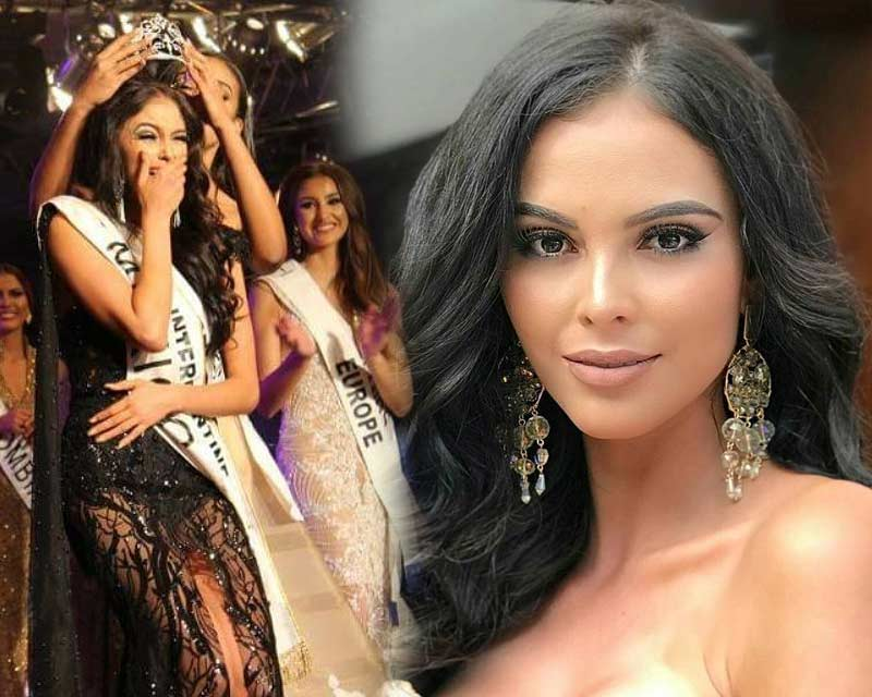 Verónica Salas Vallejo of Mexico crowned Miss Intercontinental 2017