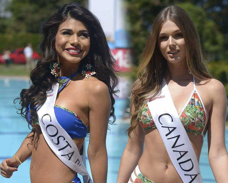 The candidates of Reinado Internacional del Café 2018 shine brilliantly in Swimsuits!