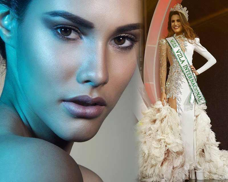 Mariem Claret Velazco García crowned Miss International Venezuela 2018