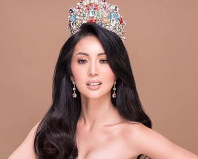 Miss Philippines Earth 2019 Janelle Lazo Tee prepares herself to crown the next Miss Philippines Earth
