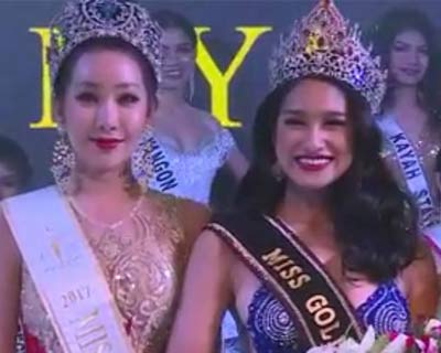 People's Choice Shwe Eain Si crowned Miss Golden Land Myanmar 2018