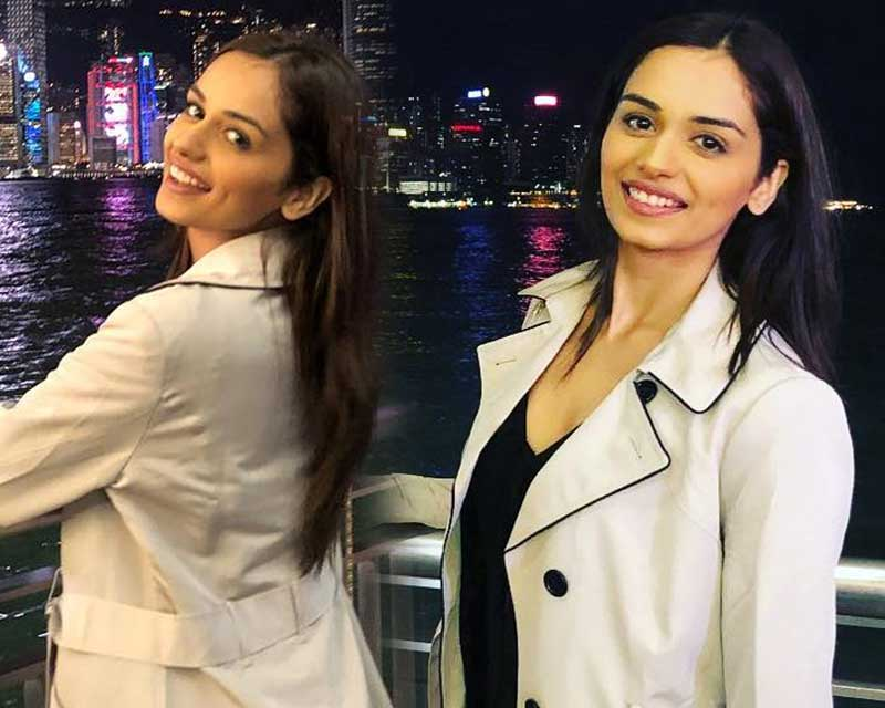 Manushi Chhillar's reigning tour starts by arriving in Hong Kong!