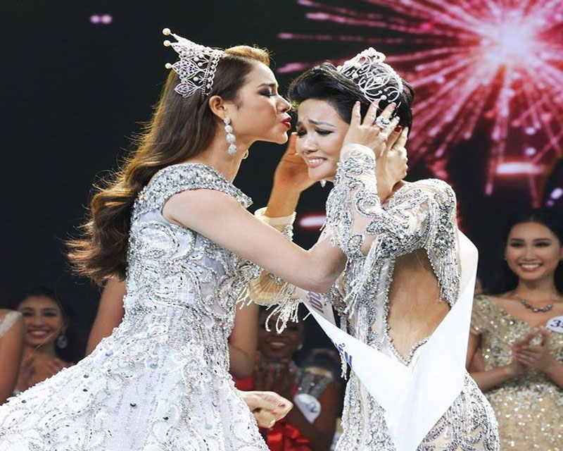H'Hen Nie crowned Miss Universe Vietnam 2017 for Miss Universe 2018