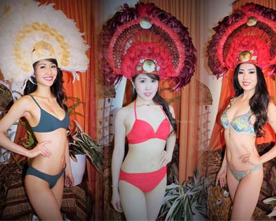 Miss Supranational Japan 2017 Finalists sizzle in Swimsuit Photoshoot