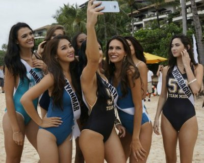 Miss Universe 2016 delegates having fun time in Boracay
