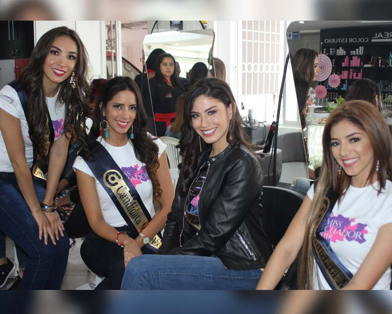 Miss Ecuador 2018 Finalists take over Ambato city!