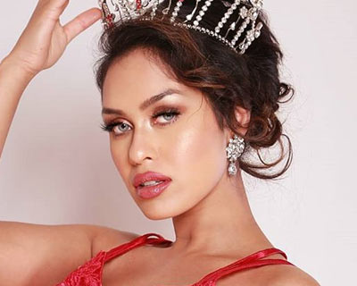 Miss England 2019 Bhasha Mukherjee to represent England at Miss Charm 2020