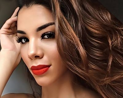 Miss Venezuela 2019 Thalía Olvino's startling yet beautiful journey