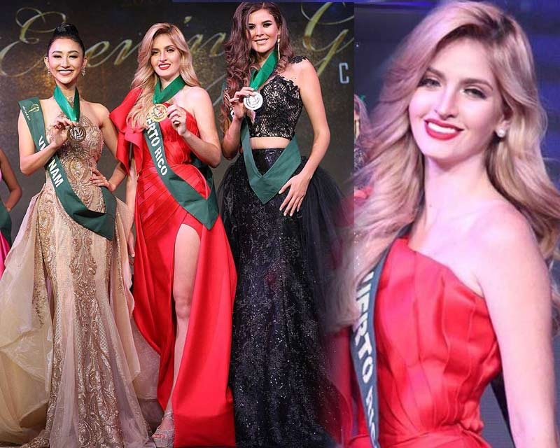 Miss Earth 2017 Evening Gown Competition Winners