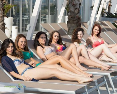 Finalists of Miss World Malta 2017 dazzled in Swimsuit Filming at Café Del Mar