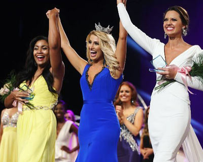 Cecili Weber crowned as Miss Virginia 2017 for Miss America 2018