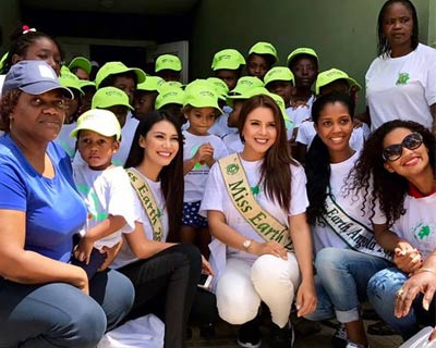 Katherine Espin visits Angola for celebrating the Earth Day