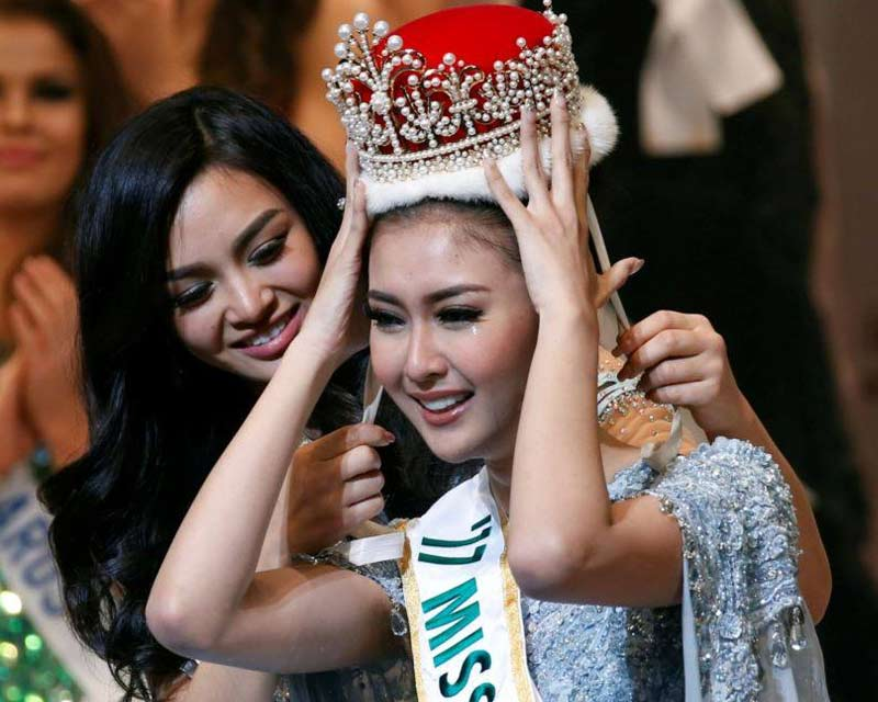 Kevin Lilliana from Indonesia crowned Miss International 2017