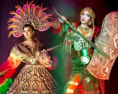 Filipina heroes inspired National Costume for Binibining Pilipinas 2020