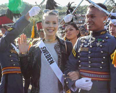 Miss Universe 2016 contestants welcomed heartily in Baguio