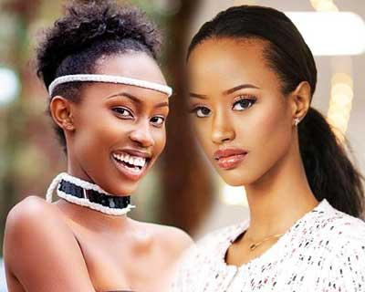 Miss Rwanda 2020 Top 5 Final Hot Picks