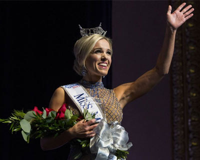 Heather Kendrick crowned as Miss Michigan 2017 for Miss America 2018