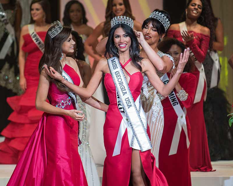 Marianny Egurrola crowned Miss Georgia USA 2018