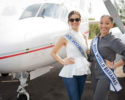 Vanessa Ponce De Leon has embarked on her last trip as the reigning Miss World