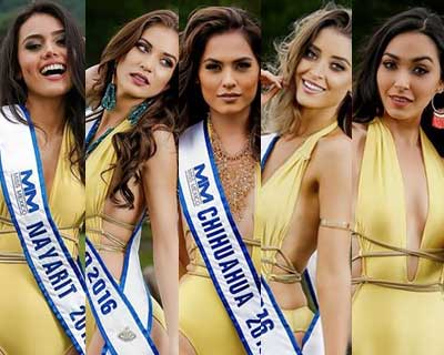 Top 5 Favourites of Miss World Mexico 2016