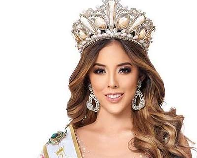 Ecuador's Susan Toledo emerges as a front runner for Miss Eco International 2020