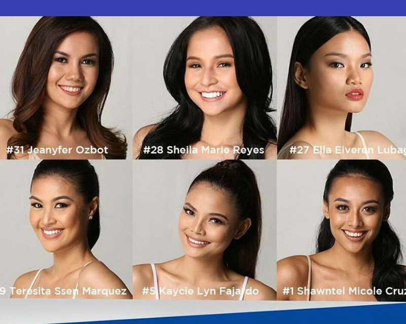 Miss World Philippines 2017 Finalists of Talent Competition