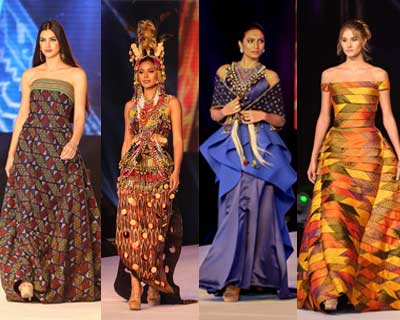 Miss Universe 2016 contestants participate at Mindanao Tapestry Show