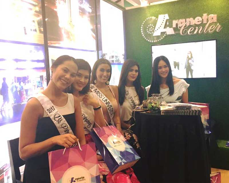 Binibining Pilipinas 2017 winners visited National Retail Conference