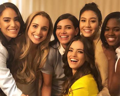 Vanessa Ponce de Leon and the Continental Queens raise money for Variety- the Children's Charity