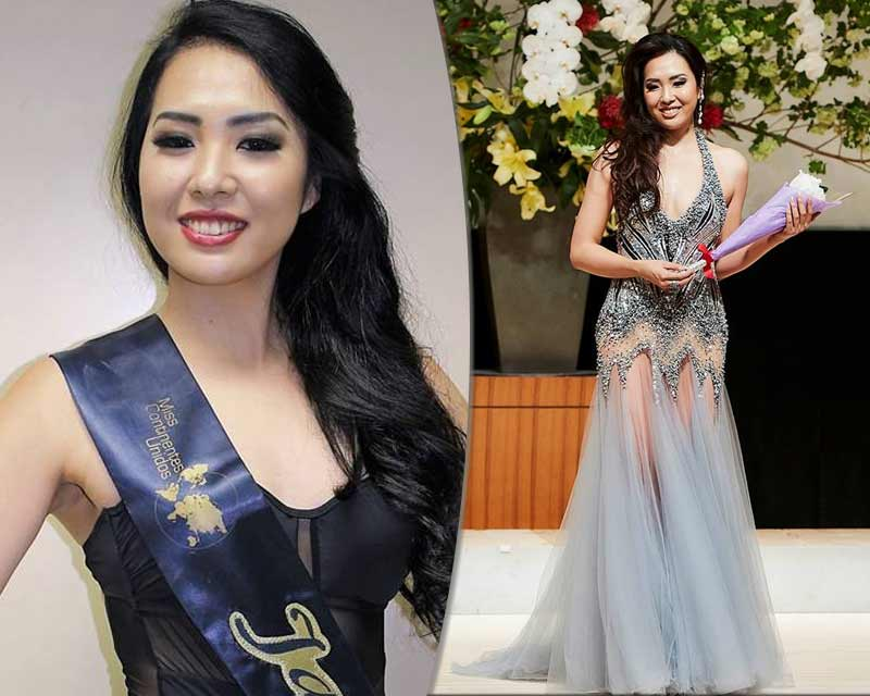 Yuika Tsutsumi to represent Japan in Miss United Continents 2017